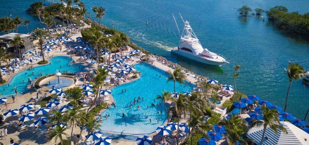 Aerial view of Ocean Reef Club