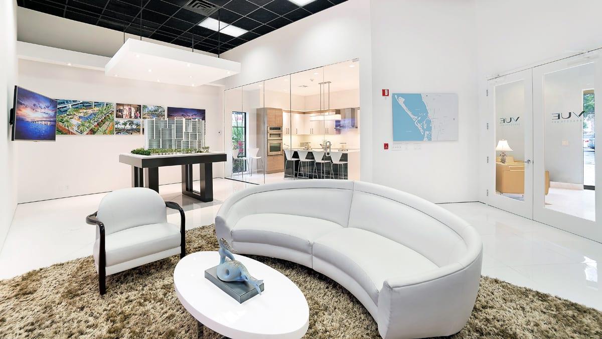 VUE Sarasota BaySales Environment Design
