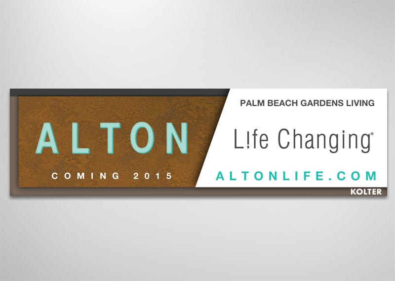 Alton Palm Beach Gardens Branding Design