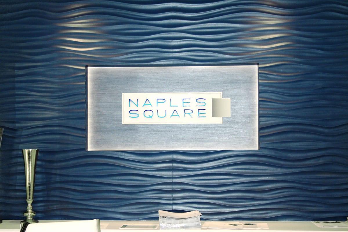 Naples SquareSales Environment Design