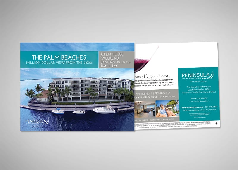 Peninsula on the Intracoastal Print Design