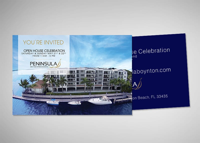 Peninsula on the Intracoastal Print Design
