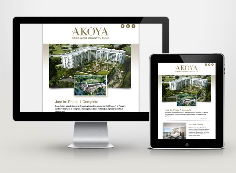 Akoya Boca West Digital Design