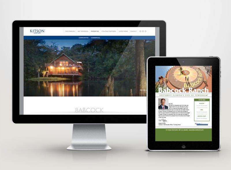 Kitson & Partners Digital Design