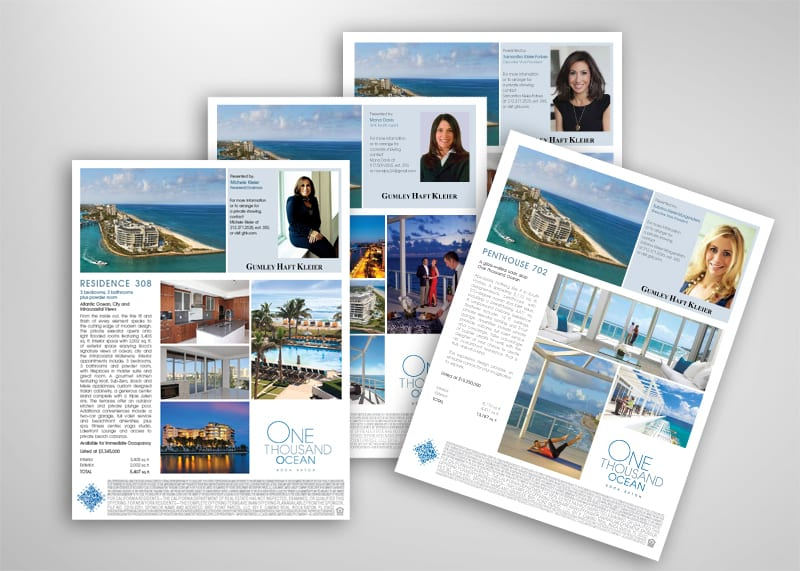One Thousand Ocean Print Design