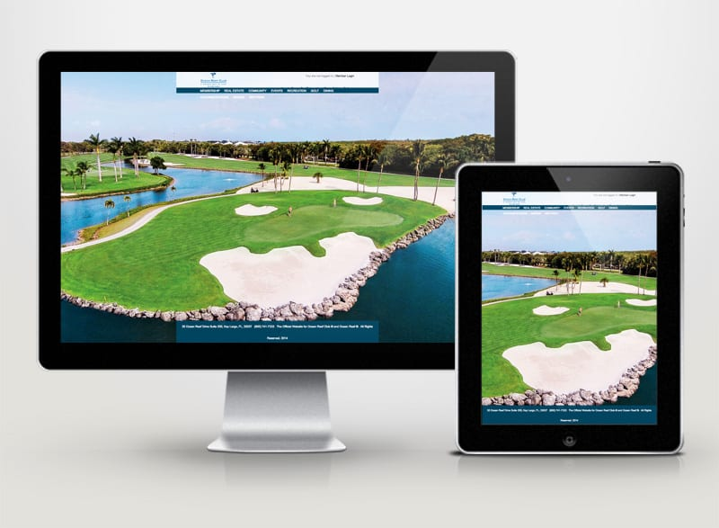 Ocean Reef Club Digital Design