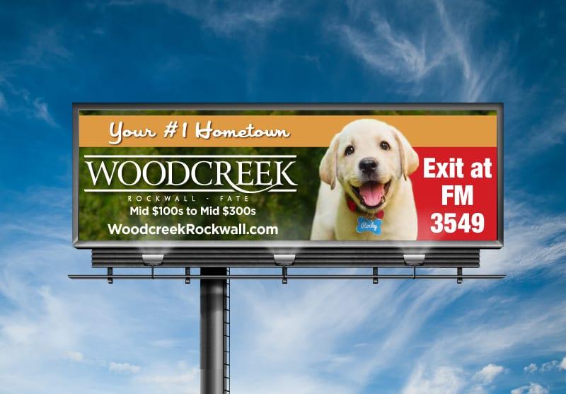 Woodcreek Fate Texas Branding Design