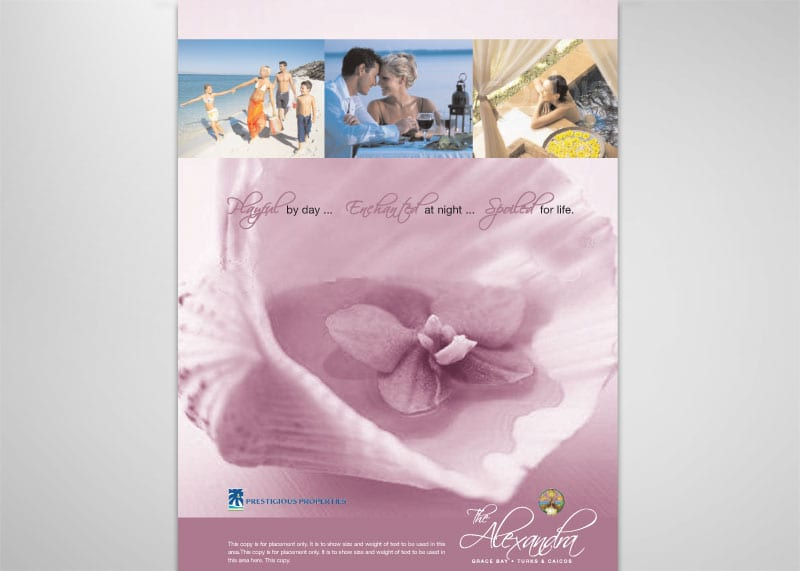 Alexandra Resort Print Design