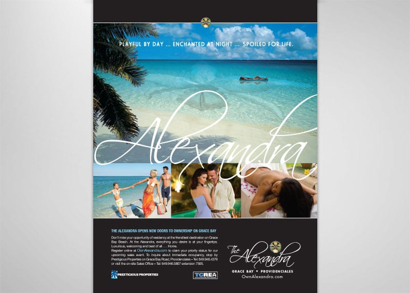 Alexandra Resort Print Design