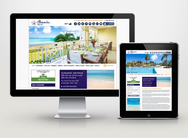 Alexandra Resort Digital Design