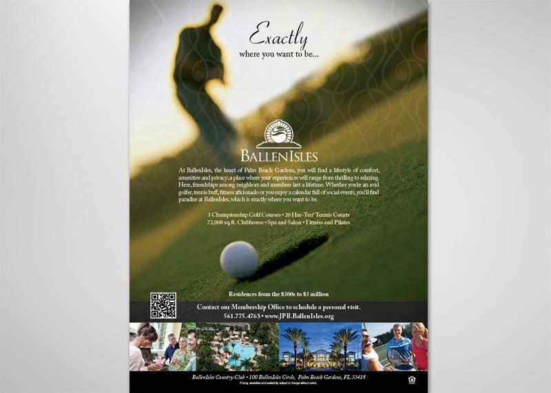 BallenIsles Print Design