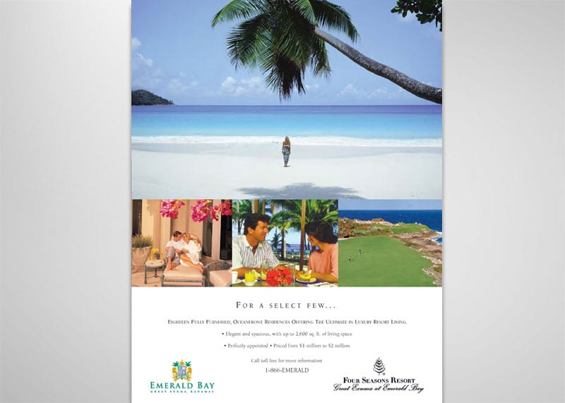 Emerald Bay Print Design