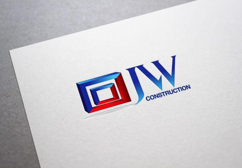JW Construction Branding Design
