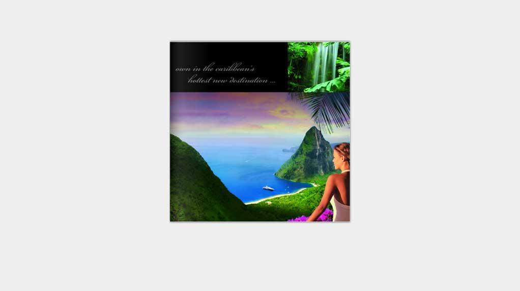 Le Paradis Print Design