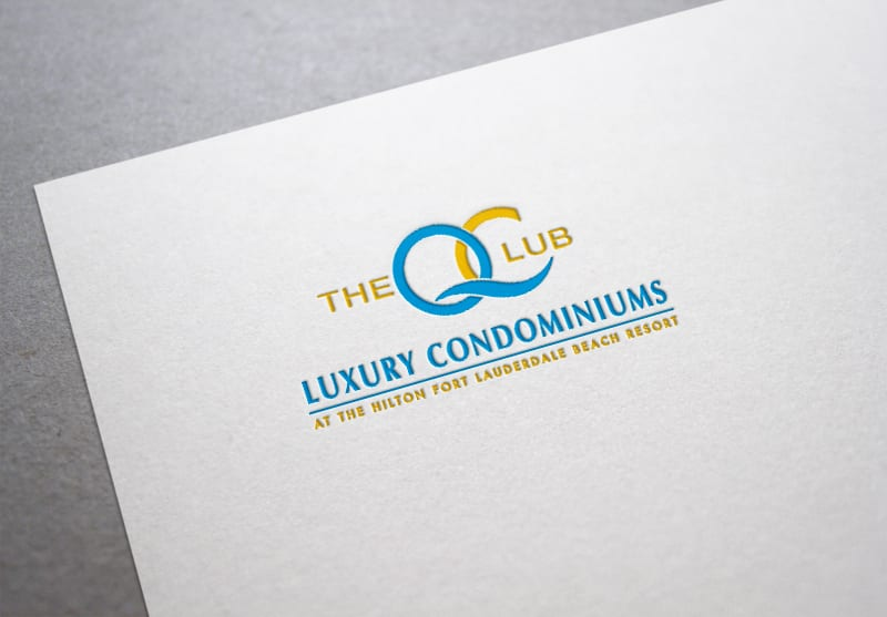 Q Club Resort Branding Design