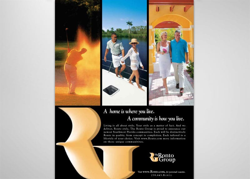 The Ronto Group Print Design