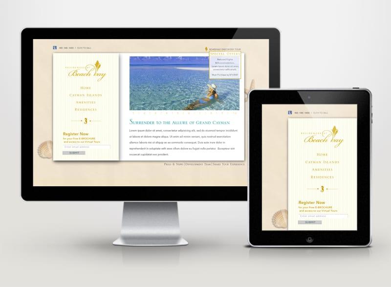 Residences at Beach Bay Digital Design