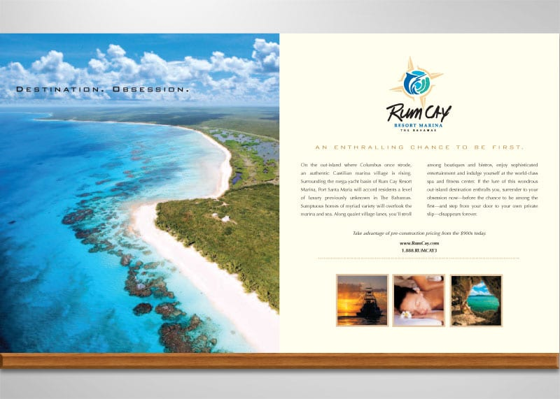 Rum Cay Bahamas Print Design