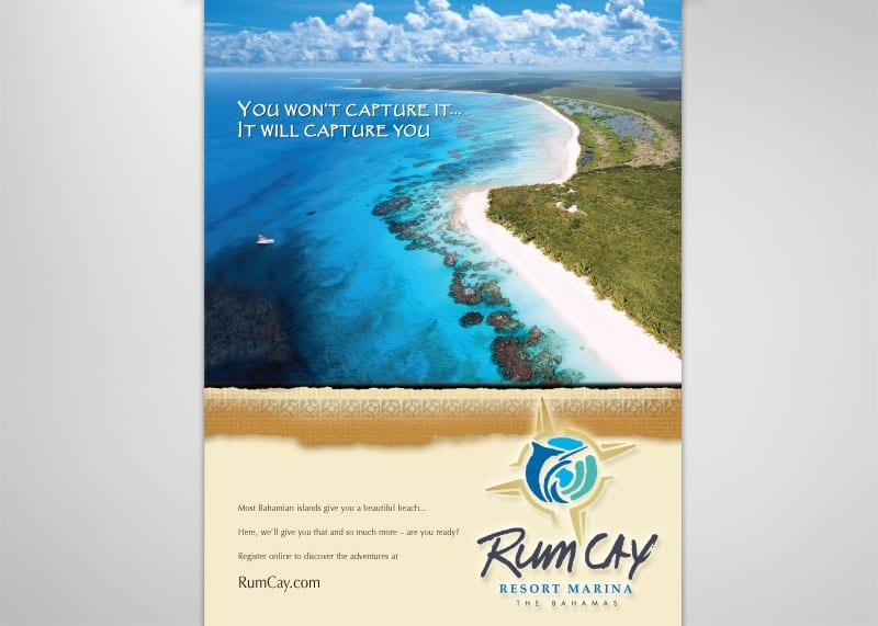 Rum Cay Print Design