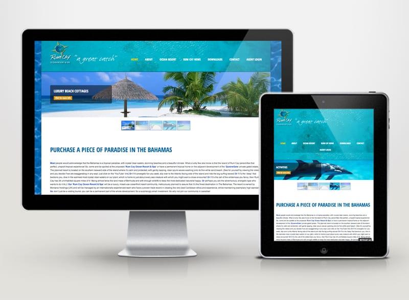 Rum Cay Bahamas Digital Design