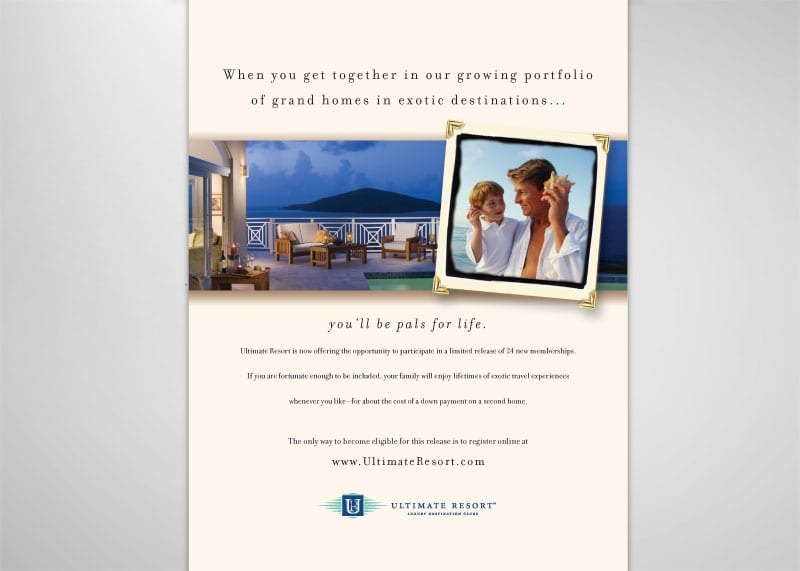 Ultimate Resorts Print Design