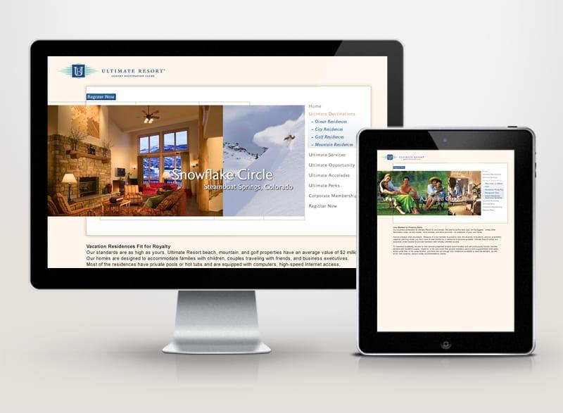 Ultimate Resorts Digital Design