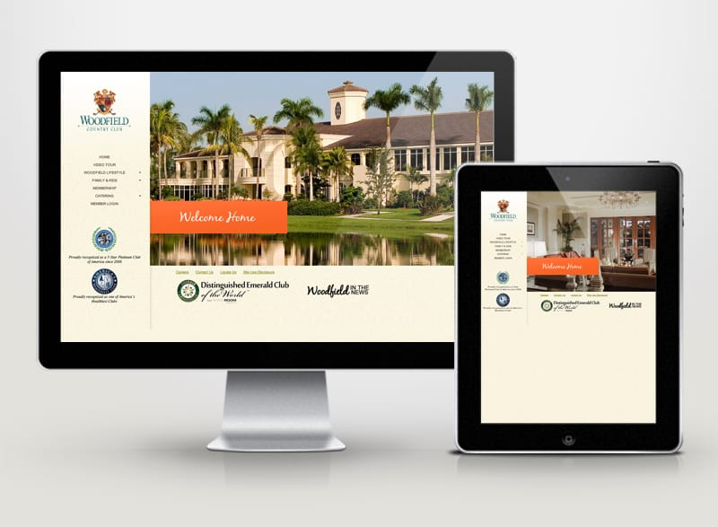 Woodfield Country Club Digital Design