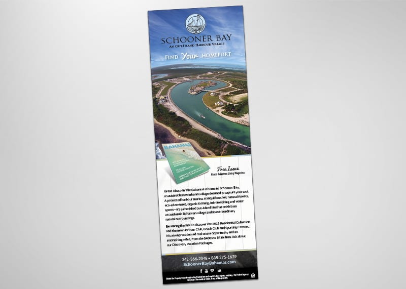 Schooner Bay Print Design
