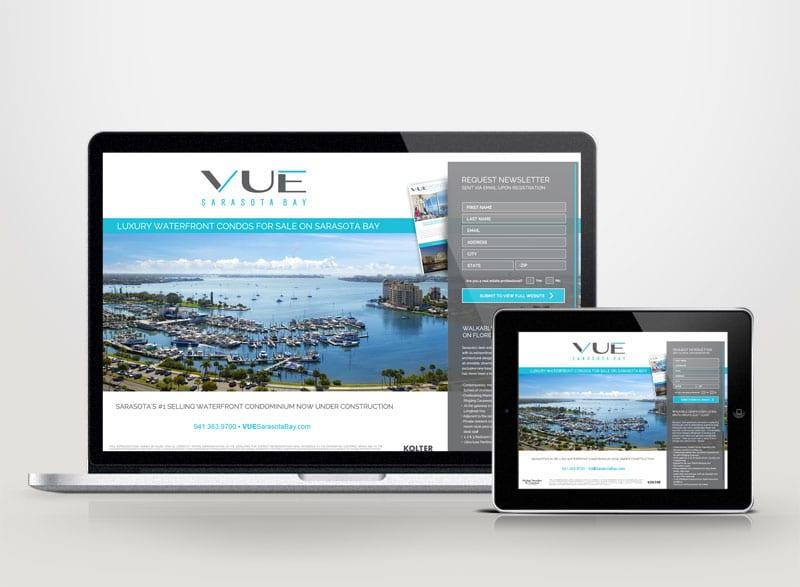 VUE Sarasota Bay Digital Design