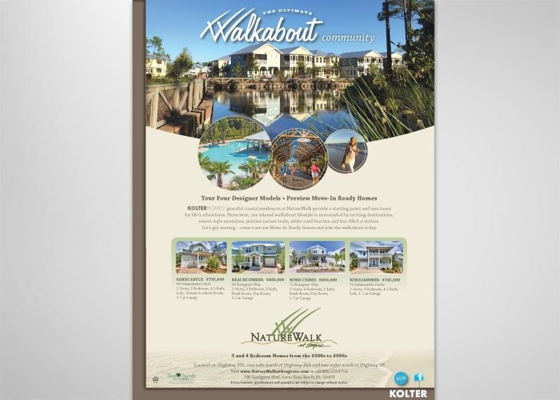 Nature Walk Print Design