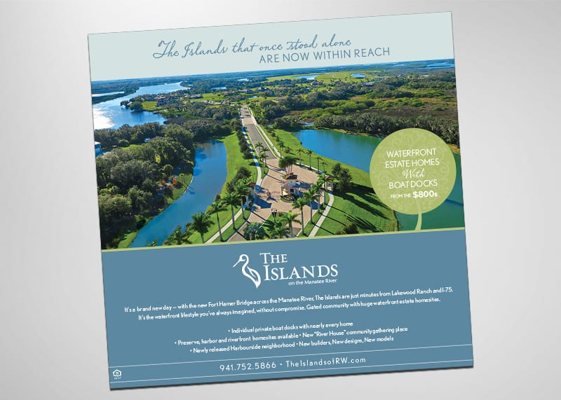 The Islands Print Design