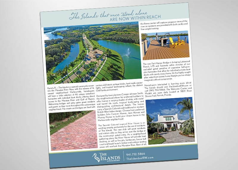 The Islands Print Design