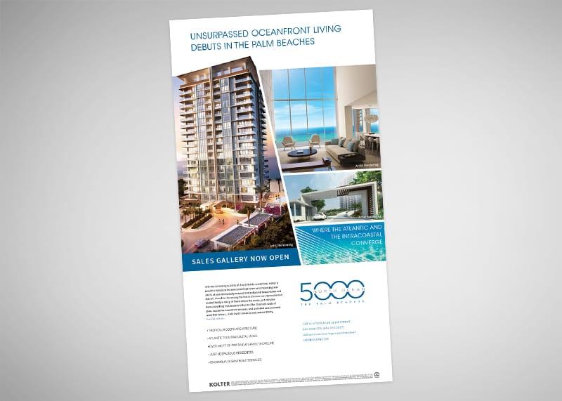 5000 North Ocean Print Design