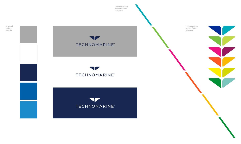 Technomarine Group Branding Design