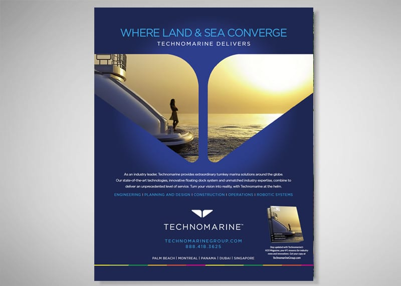 Technomarine Group Print Design