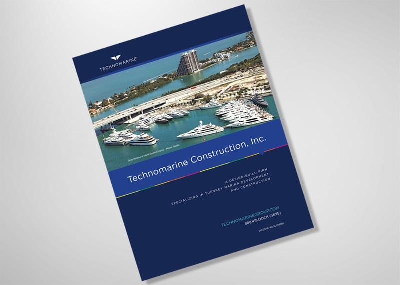 Technomarine Group Print Design