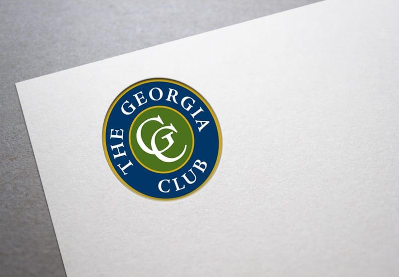 The Georgia Club Branding Design
