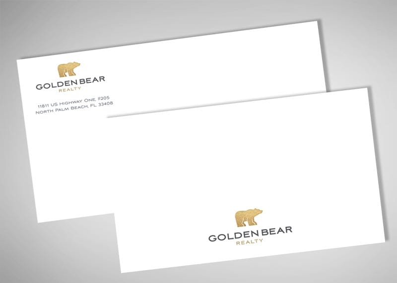 Golden Bear Realty Print Design