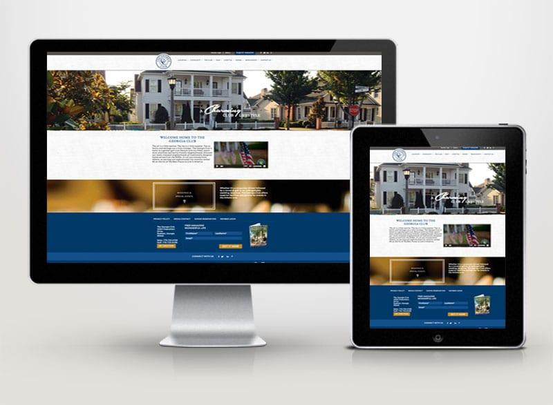 The Georgia Club Digital Design