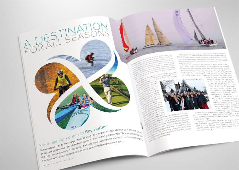 Explore Bay Harbor Print Design