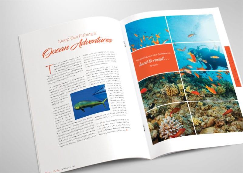 Harbour Lakes Print Design