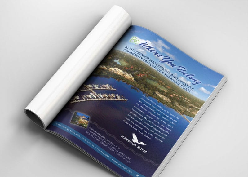Harbour Ridge Print Design