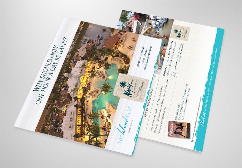 Naples Reserve Print Design
