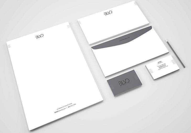 BLVD Sarasota Branding Design