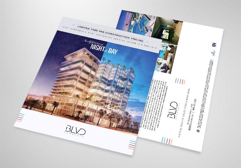 BLVD Sarasota Print Design