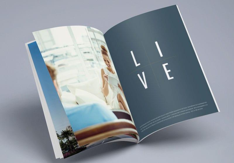 100 Las Olas Print Design
