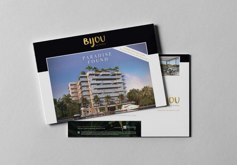 Bijou Bay Harbor Print Design