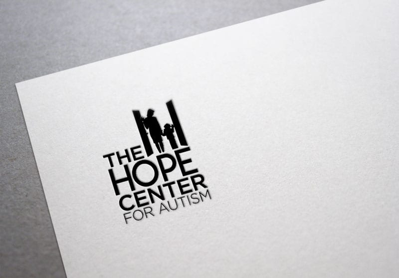 Hope Center for Autism Branding Design