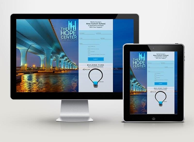 Hope Center for Autism Digital Design