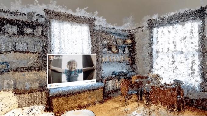 Facebook VR Memories